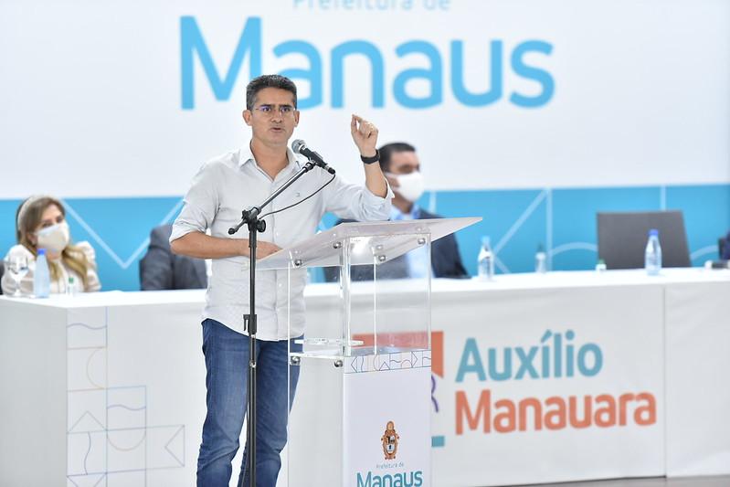 MP-AM pede afastamento do prefeito de Manaus, secretária e 10 médicos