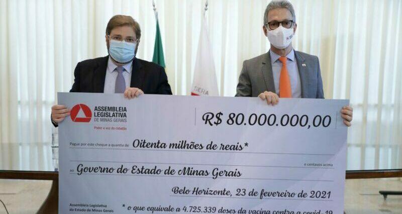 Deputados devolvem R$ 80 milhões para estado combater coronavírus