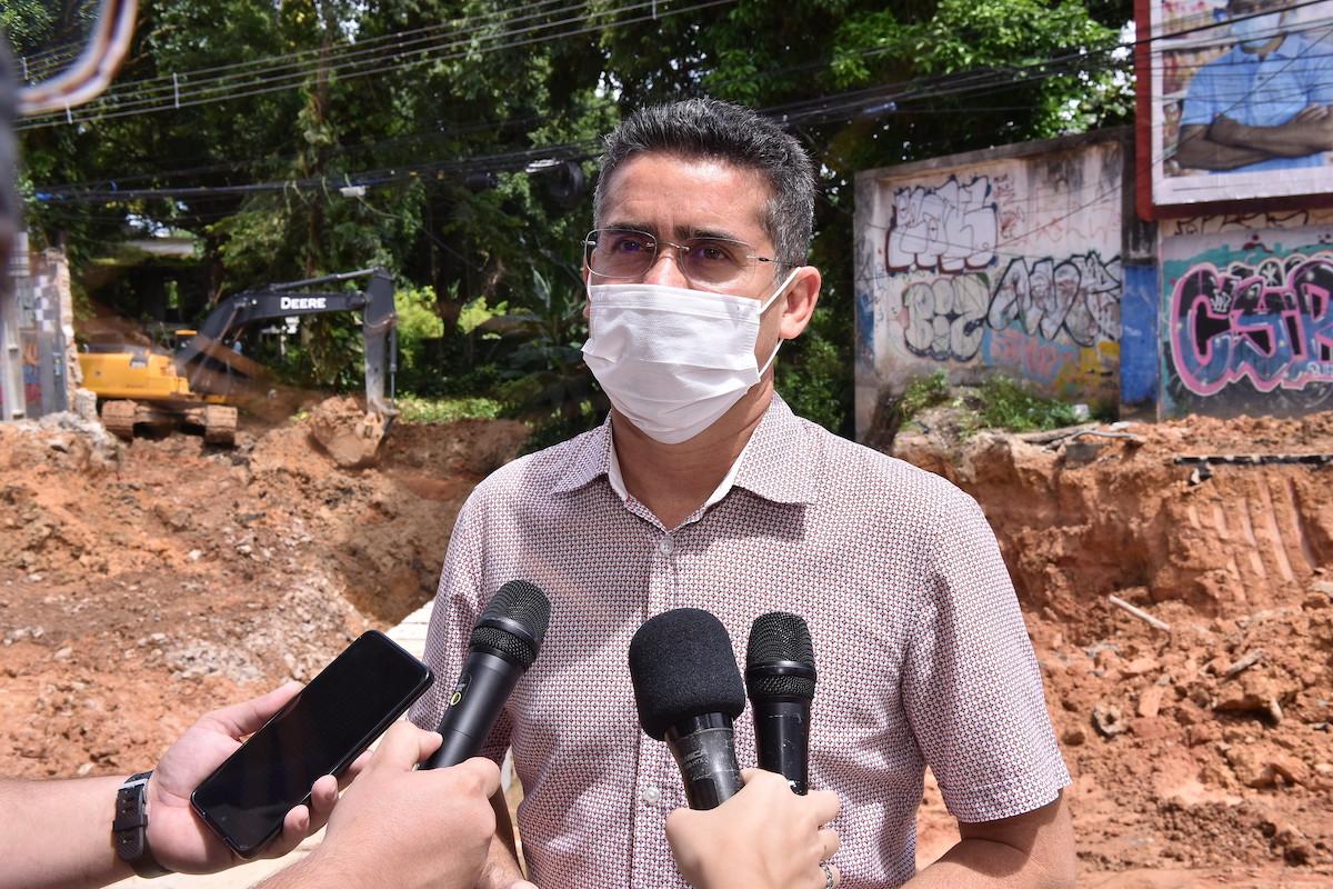 David Almeida se encontra hoje com a bancada em Brasília