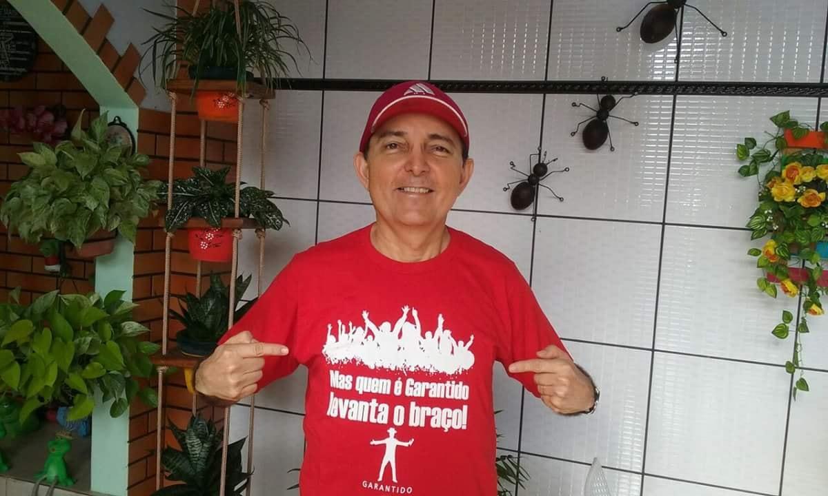 Paulinho Faria luta contra a covid-19 em Parintins