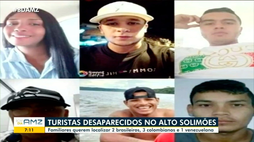 Turistas estrangeiros estão desaparecidos no Amazonas há 25 dias