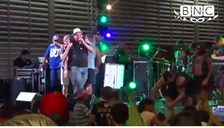 #TBT – Klinger Araújo e Zezinho Corrêa no Carnaval de 2019