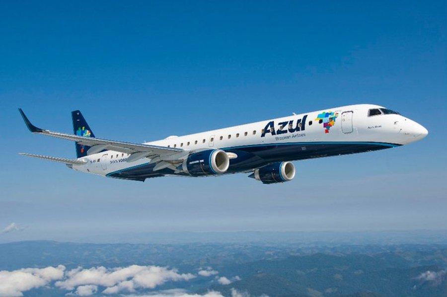 Com jato de 118 assentos, Azul inicia voos Manaus a Parintins e S. Gabriel