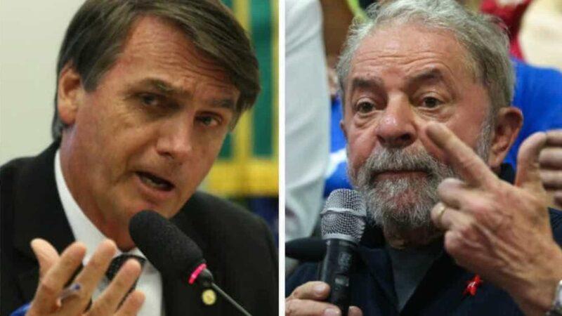 Pesquisa mostra folga na vitória de Lula sobre Bolsonaro