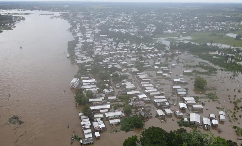 Eirunepé pede socorro por 13 mil atingidos em cheia histórica do Juruá