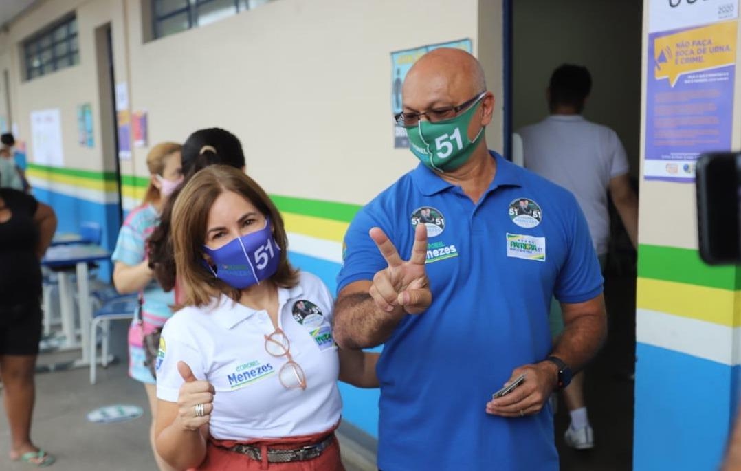 Esposa do coronel Menezes é intubada com covid em Manaus