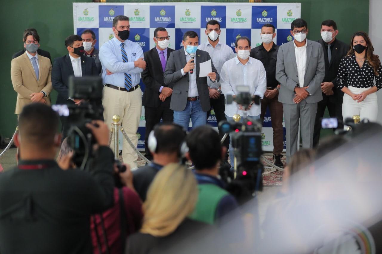 Wilson Lima lança pacote de ajuda ao setor de cultura, esporte e turismo