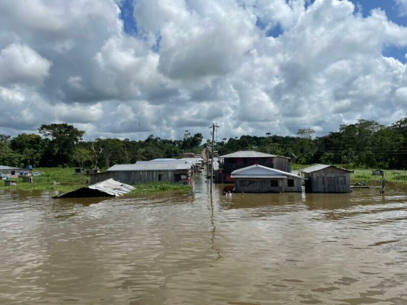 Liberados mais R$ 2,51 milhões aos desabrigados das enchentes no AM