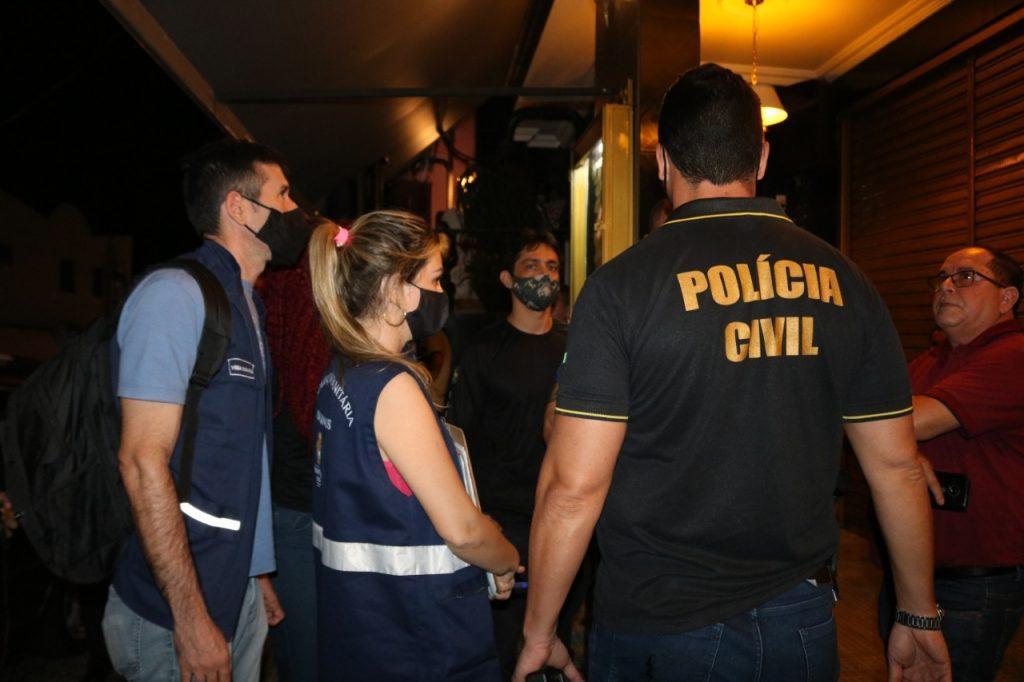 Fiscalização fecha bar com mais de 300 pessoas na zona leste de Manaus