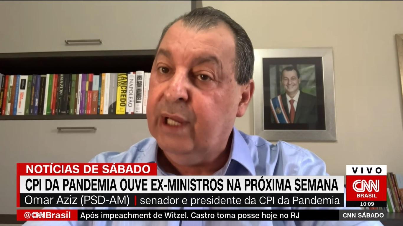 Vacinação no Brasil contra covid não termina neste ano, diz Aziz à CNN