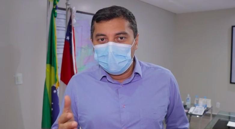 Governador diz que vai parar Manaus para vacinar todos acima de 40 anos