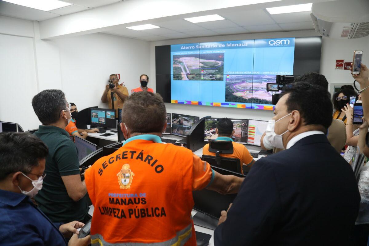 Prefeito busca alternativas sustentáveis para aterro sanitário de Manaus