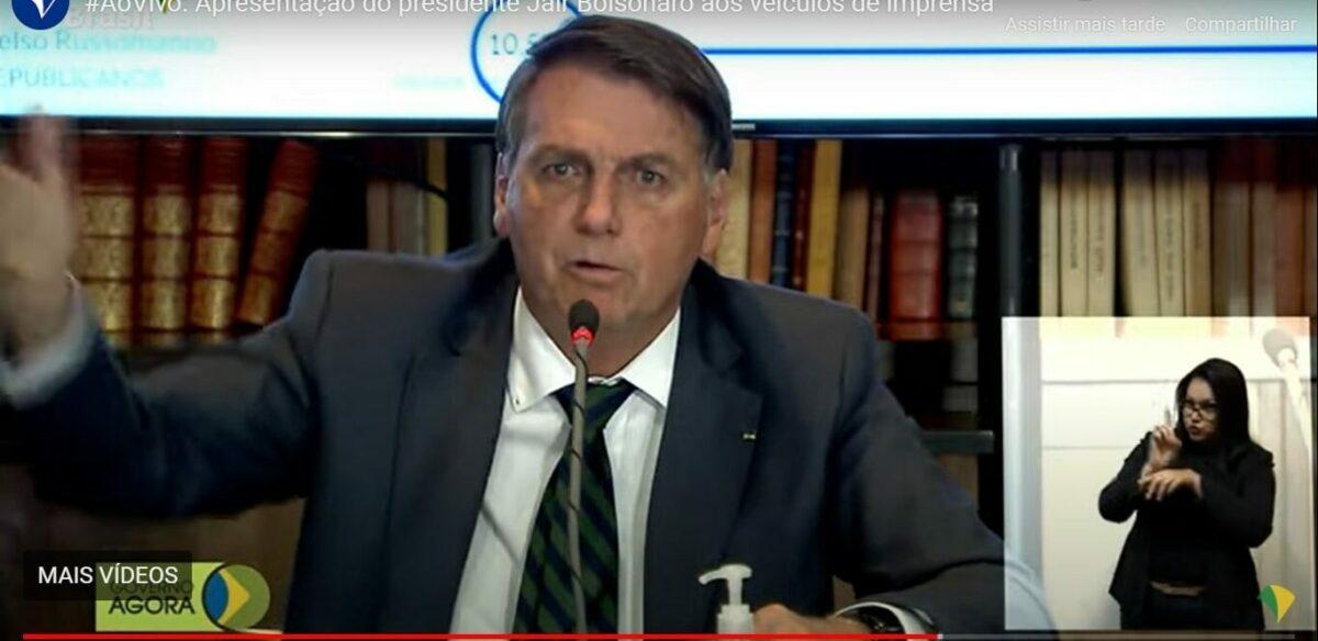Bolsonaro diz que 'não tem como comprovar se eleições foram fraudadas'