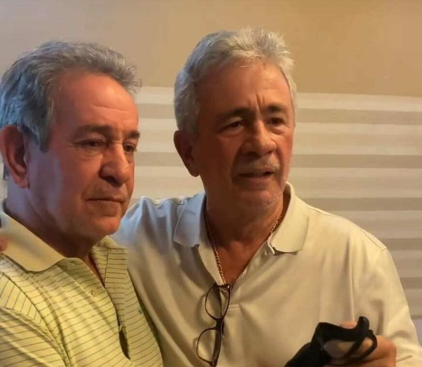 'Deus atendeu nossas preces', disse Carlos Souza sobre absolvição