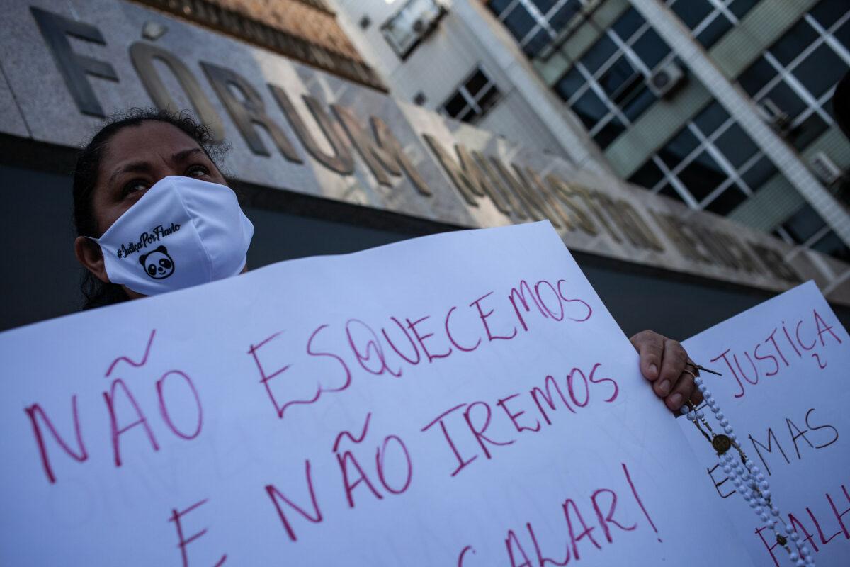 Filha de Betinha ausente, testemunha diz o que viu do crime de Flávio