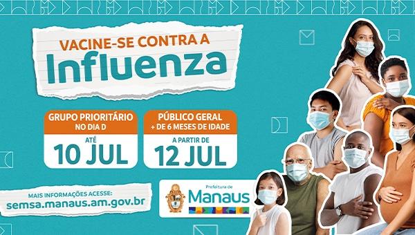 Vacinação contra a Gripe terá Dia D no sábado e será levada a toda a população a partir do dia 12