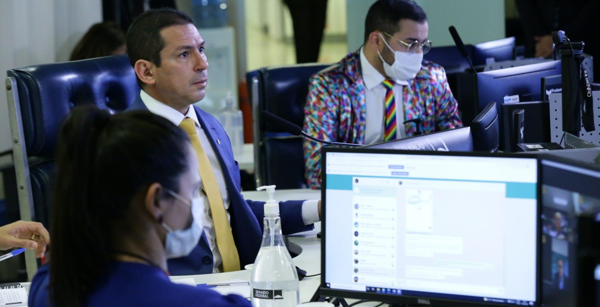 Marcelo Ramos reage à acusação de Bolsonaro sobre  fundo eleitoral