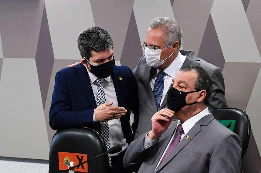 Cúpula da CPI se reúne em encontro virtual, mesmo em recesso