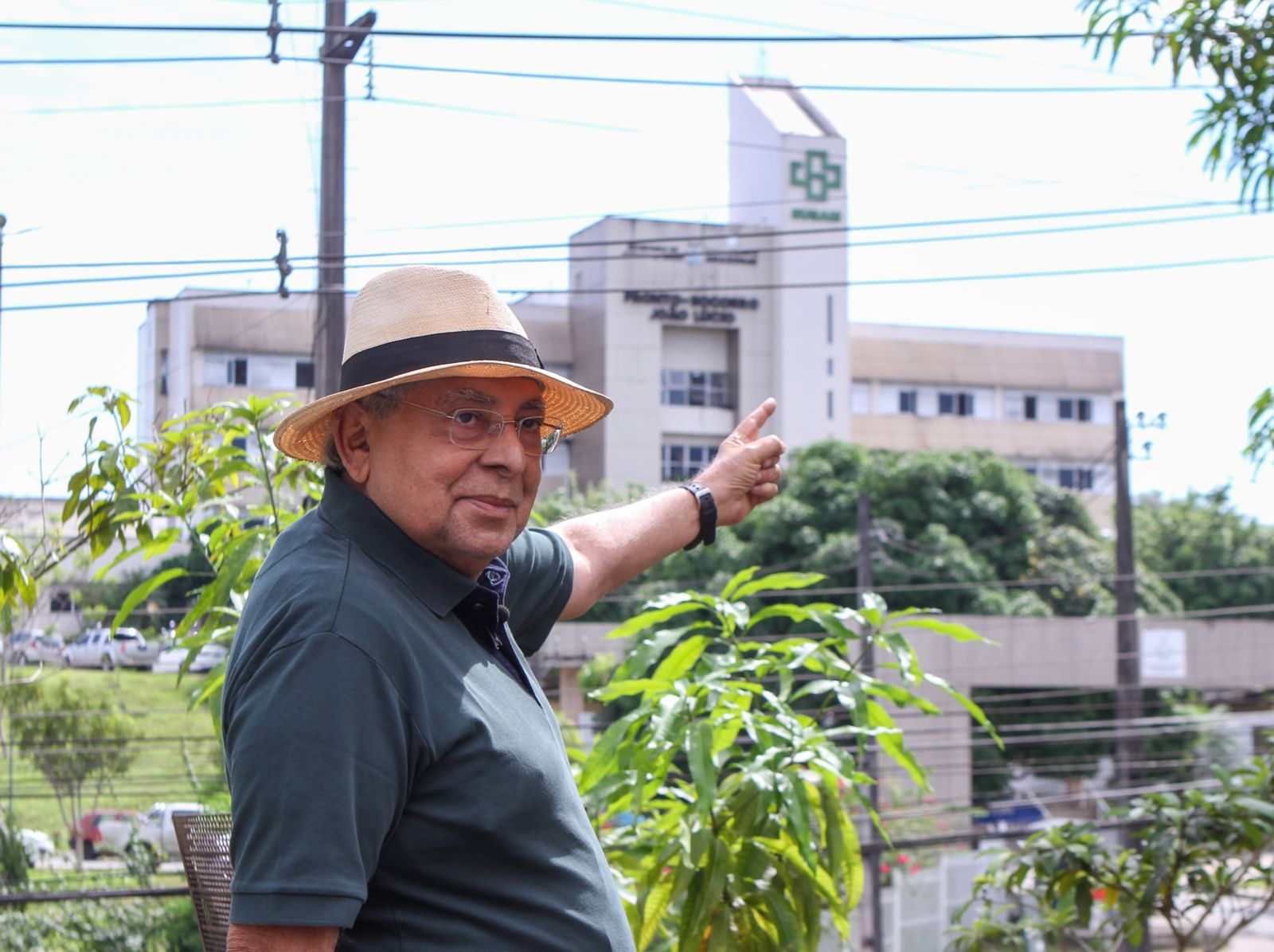 Das hemodiálises para as ruas, Amazonino entra na maratona 2022