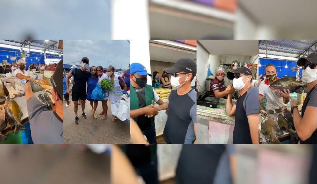 David Almeida volta às ruas de Manaus após uma semana de luto