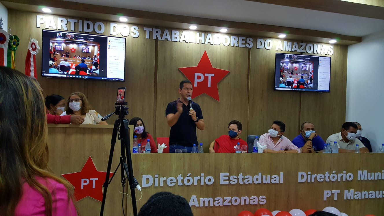 Sem Zé Ricardo, PT inaugura nova sede no Amazonas