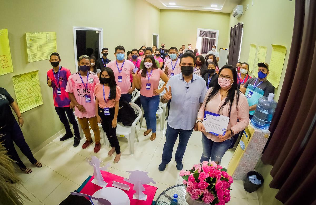 Jovens de Manacapuru  capacitados a reconquistar o mercado no pós-pandemia