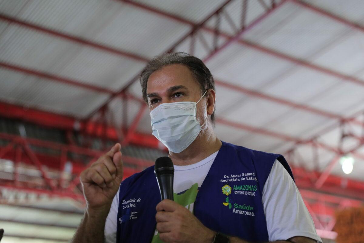 Secretário de Saúde do AM destaca peso da vacina na queda da covid